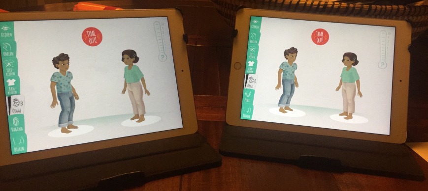 VilDu?! – Two character on two iPads